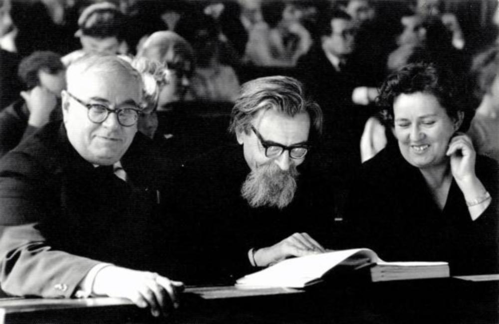 Н.Б. Вассоевич, В.А. Успенский и А.Н. Гусева