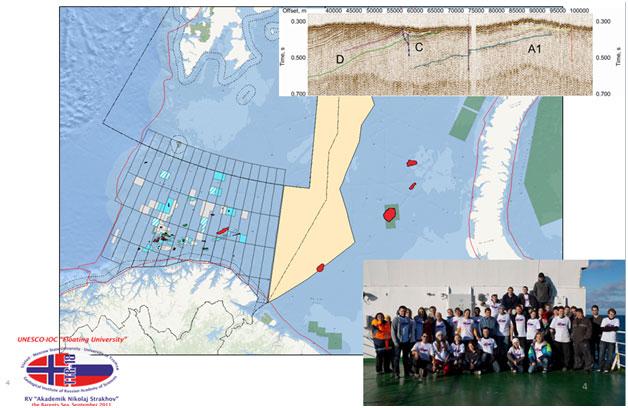 Центральная часть Баренцева моря – область совместных российско-норвежских исследований. Круиз 2011 г.