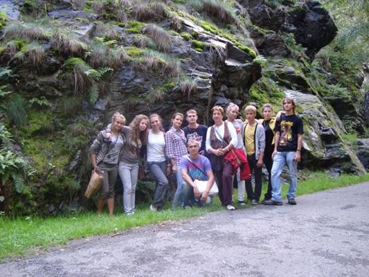 2 курс. Общегеологическая практика, Чехия