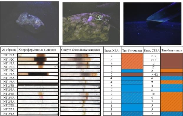Люминесцентно-битуминологический анализ